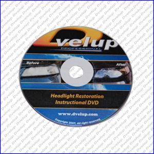 HeadLight Restoration Instructional DVD