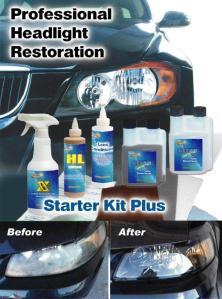 Professional Headlight Restoration