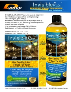 Invisible Rain Washer Concentrate