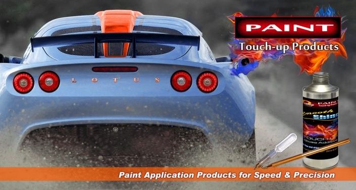 Paint Application Products - Headlight paint and plastic restoration
