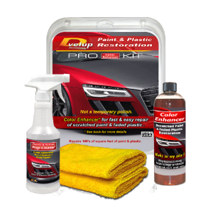 Color Enhancer PRO Kit - Restore scratches and faded plastic